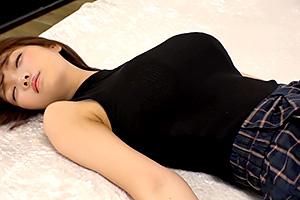 【菊川みつ葉】極上の巨乳美女を催眠術で眠らせて絶頂トランスSEX!