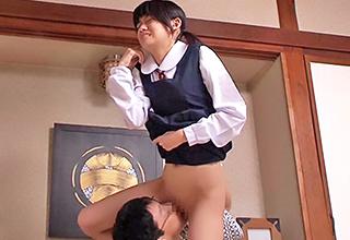 修旅でやってきた旅館で鬼畜な男に弱みを握られてしまった少女がそのウブな身体を蹂躙される一部始終・・・