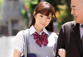 【橋本ありな】放課後に「オッサンとデートする」という特殊なアルバイトをしているJKが裏オプで本番承諾!