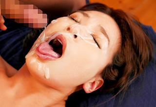 【かすみ果穂】美人AV女優が引退間際に見せた最後っ屁が凄すぎる!ザーメンで顔面が見えない程に汚されまくる!