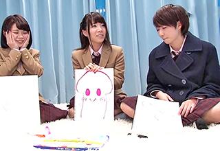 【マジックミラー号】「これがチン・・・」修旅で東京にやってきた制服少女達にエロゲームを仕掛けてみたw