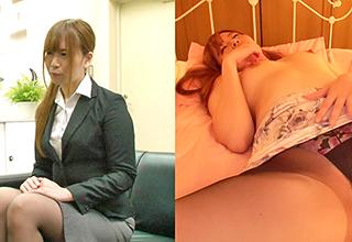 働く美女からは性的な部分は感じられない。逆にセックスしてる美女からも普段の姿は窺えない。同時に見るとこんなに興奮!