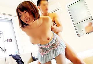 上京して間もない田舎娘が巨乳を晒してAV出演しちゃいました!汚れが無かったのにねぇ・・・