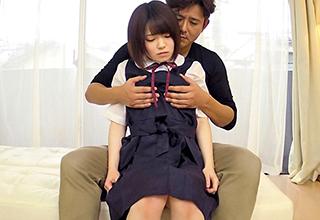「先生、お願い・・・」制服JKがまだ知らない性への興味を家庭教師にブツけてみた