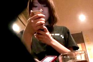 【素人】北海道で見つけたおっぱいがすごい激カワ居酒屋店員をナンパお持ち帰り!後日、AVデビューへ…