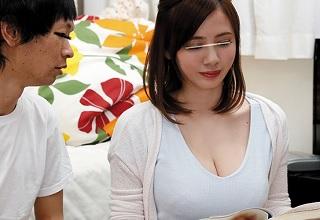 【吉川あいみ】胸チラばかりする家庭教師のお姉さんがエッチすぎる・・・