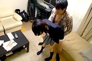 一人暮らしを始めた兄の部屋に通う妹との近親相姦盗撮
