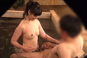 箱根温泉で見つけたお嬢さん タオル一枚男湯入ってみませんか?卒業祝い女子大生限定スペシャル